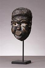 Masque, ethnie Ibibios, Nigeria.