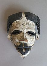 Masque articulé, ethnie Ogoni, Nigéria.