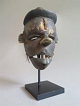 Masque articulée, ethnie Ogoni, Nigéria.