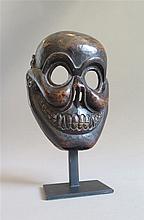 Masque de Citipati, Inde, Himalaya oriental (Arunâchal Pradesh, ethnie Monpa), XXe s.