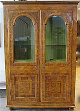 Meuble vitrine, Allemagne ou Suisse, XVIIIe s.
