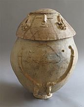 Urne funéraire anthropomorphe, Chimila, Rio Magdalena, Colombie, Ve - Xe siècle après J.-C.