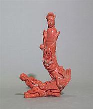 Groupe sculpté, Chine, début XXe s.