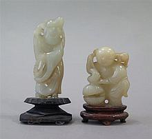 Deux petites figurines, Chine, début XXe s.
