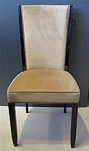 Suite de douze chaises, 1940 - 1950.