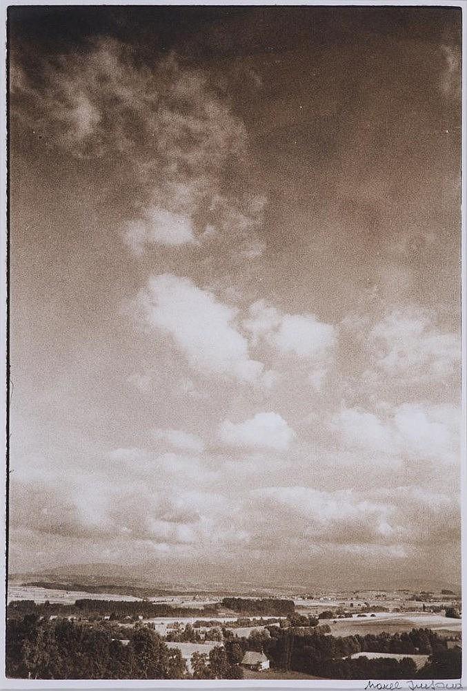 IMSAND Marcel, *1929 [CH].  Paysage du Jura,