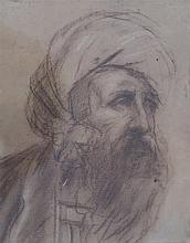 Étude d'homme au turban,