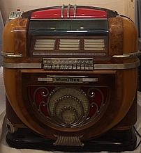 Jukebox Wurlitzer Model 71, circa 1941.