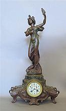 Pendule, Art Nouveau.