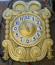 Horloge monumentale, Allemagne, fin XIXe - début XXe s.