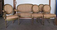 Salon, style Louis XVI, début XXe s.