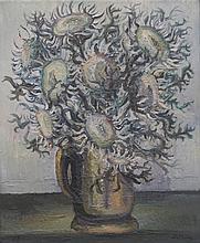 LATHION Luc, 1931-2013 [CH]. - Bouquet de chardons, (19)73,