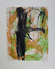 Bohary James, lithograph signed, dated and numbered, Summer fall, 1990