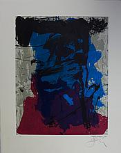 Bohary James, lithograph signed, dated and numbered, Renfe, 1990