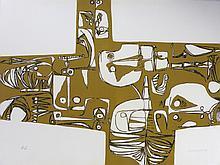 GUAYASAMIN Oswaldo, etching signed and justified HC, Milay, 1973