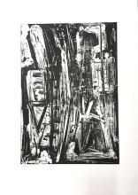 Emilio Vedova - Libertad, 1977, etching