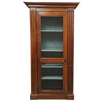 French Bibliotheque/Bookcase with Mesg Door