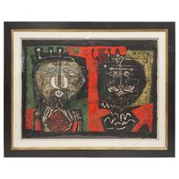 Les Deux Rois, Antoni Clace, Signed and Framed