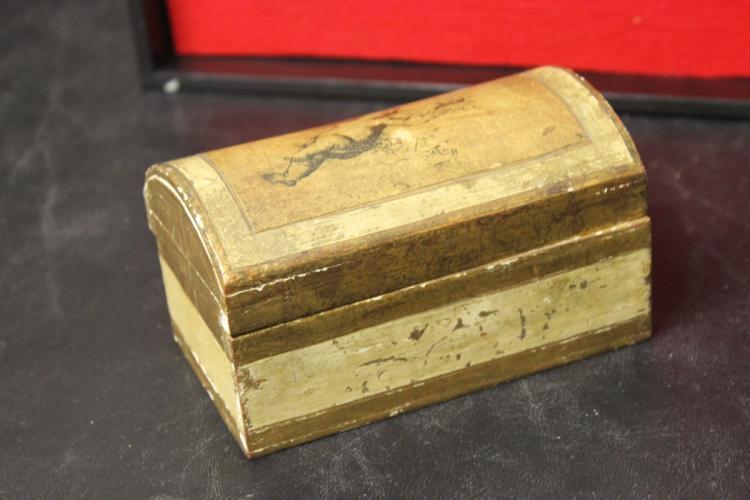 A Florentine Italian Wooden Box