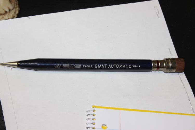 A Giant Automatic Eagle Pencil