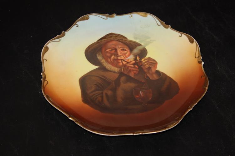 A Turin Bavaria Portrait Plate - Captain