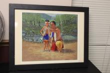 A Limited Signed Print by Ken Freeman