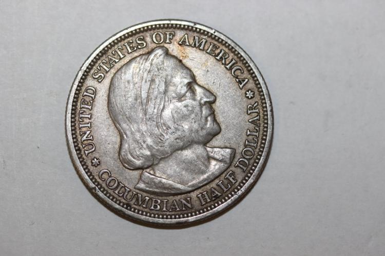A Columbia Exposition Silver Dollar