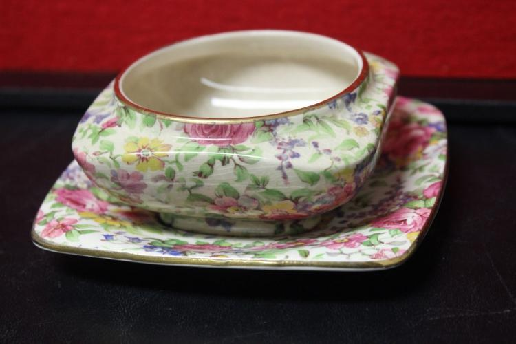 A Lot of Two Chintz Royal Winton Summertime Dishes