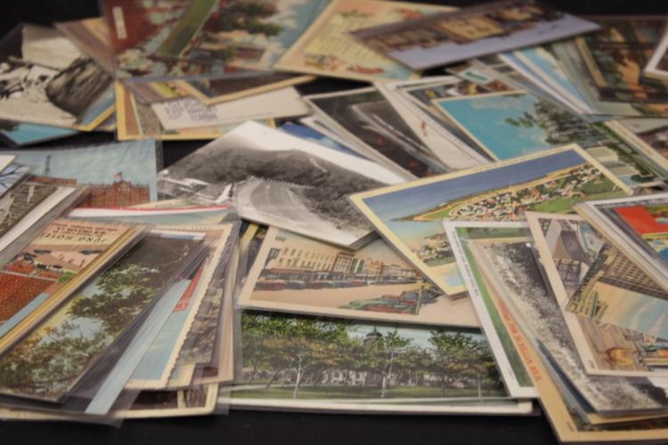 Large Lot of Vintage Post Cards