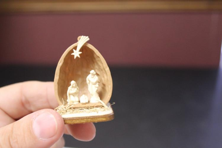 A Miniature Nativity Scene