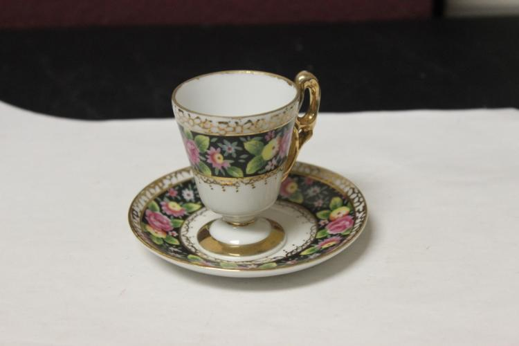 A Vintage/Antique Dematesse Cup and Saucer