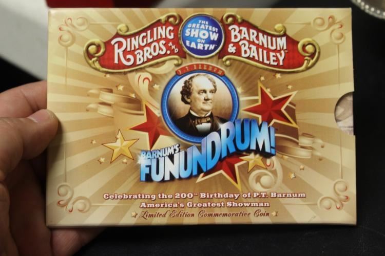 Ringling Bros. Barnum and Bailey 200th Birthday Coin