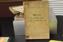 A WWII War Department Truck Manual - 1944