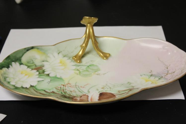 A Vintage Hand Painted Plate