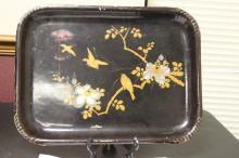 A Vintage/Antique Japanese Lacquer Tray