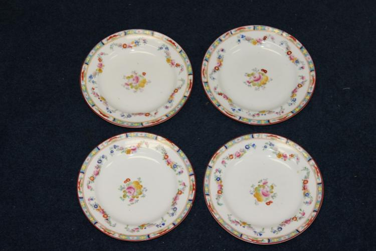 Lot Of 4 Crown Plates - Sutherland - England