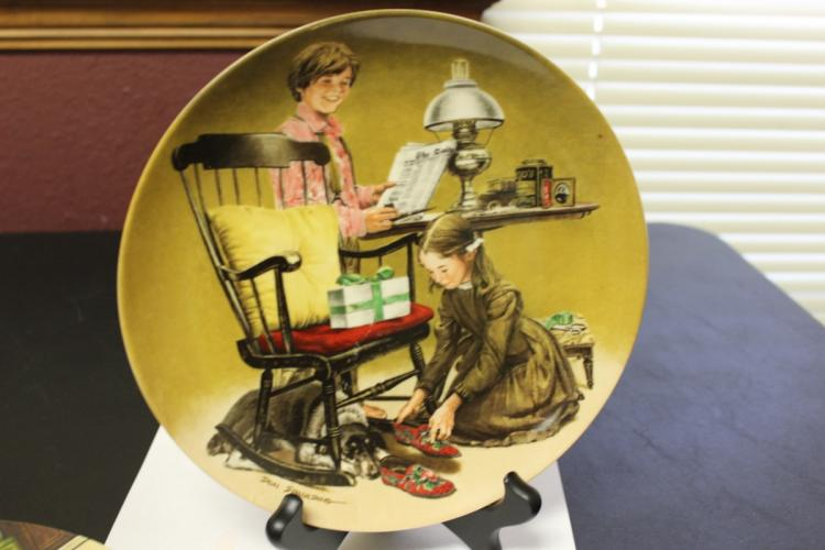 Collector's Plate by Don Spalding