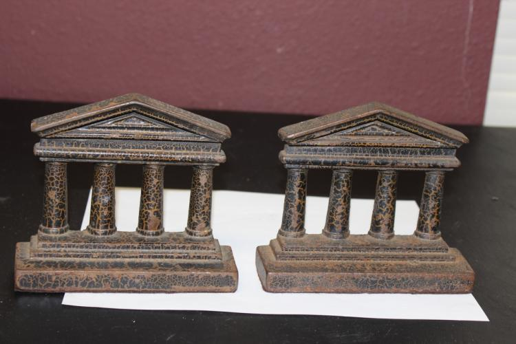 A Pair of Cast Iron Bookends