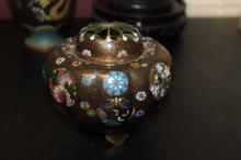 A Signed Cloisonne Jar