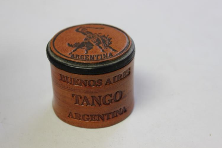 A Leather Trinket Box