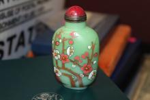 A Peking Glass Snuff Bottle