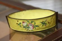 A Chinese Enamel on Copper Oval Bowl?