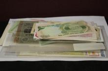A Large Lot of Foreign Paper Money