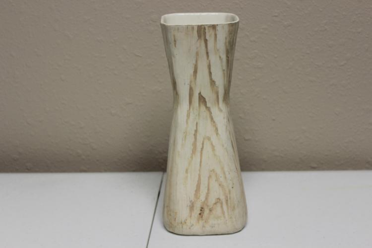 A Shawnee Whitewood Grain Vase