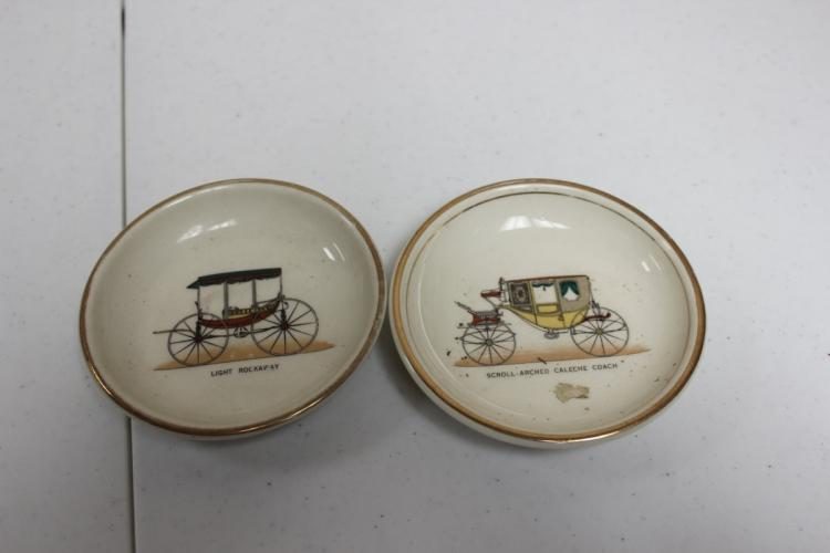 A Pair of Hyland Candy or Small Dishes / Plates