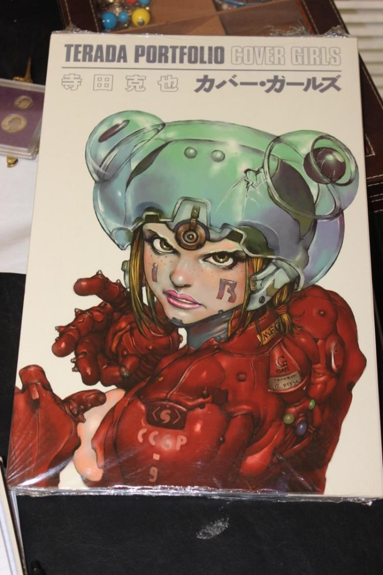 Terada Portfolio Cover Girls - Japanese Cartoon