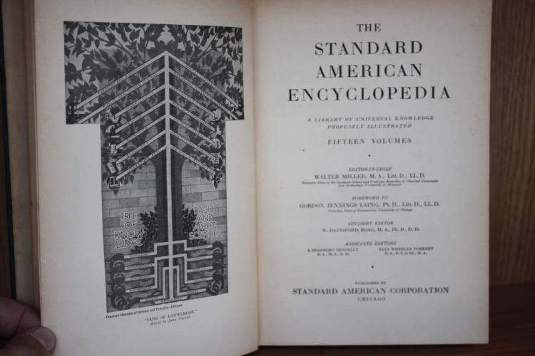 Book - The Standard American Encyclopedia - Volume 1.