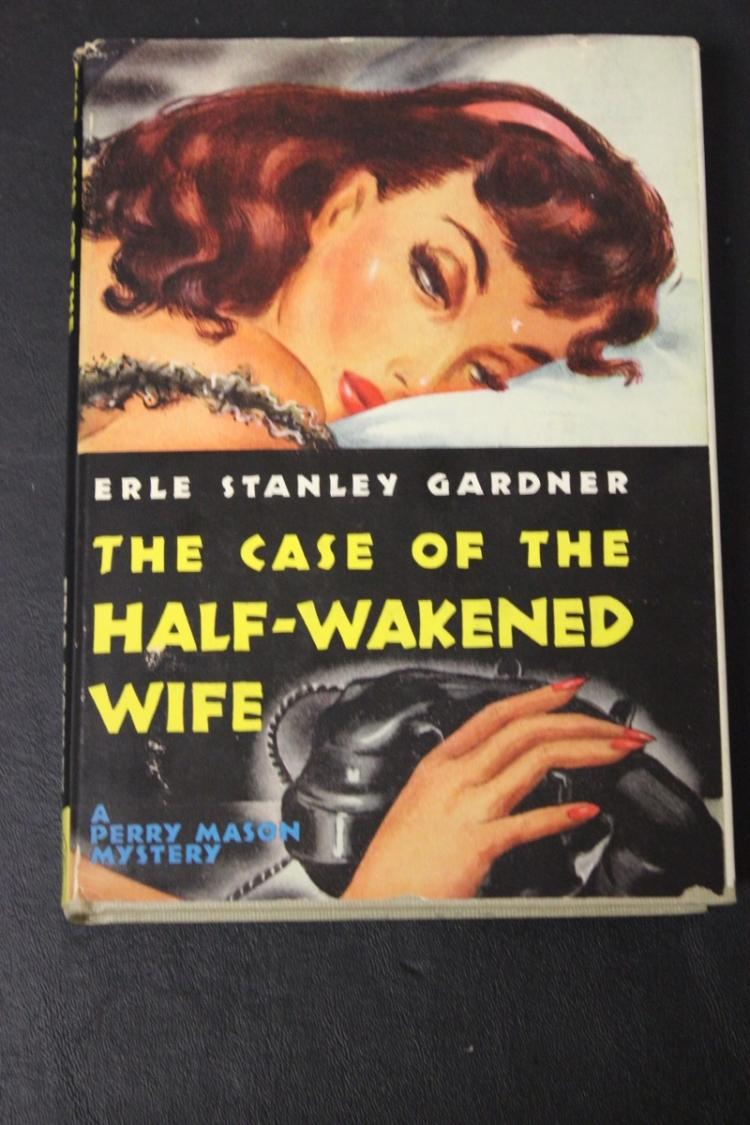 Book - The Case of The Half Wakened Wife