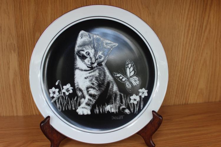 Collector's Plate - Kitten's World