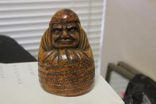 An Antique Chinese/Asian Bamboo Figurine